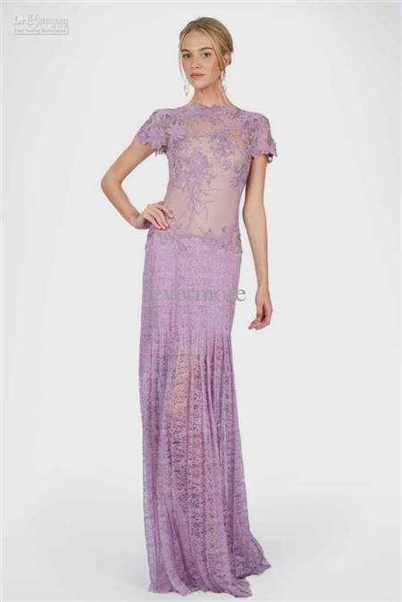 lilac lace dress