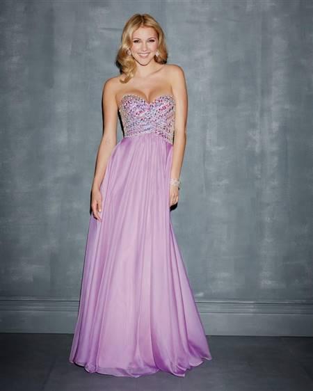 lilac prom dresses
