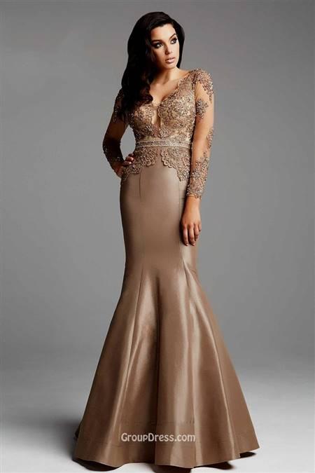 mermaid dress with sleeves