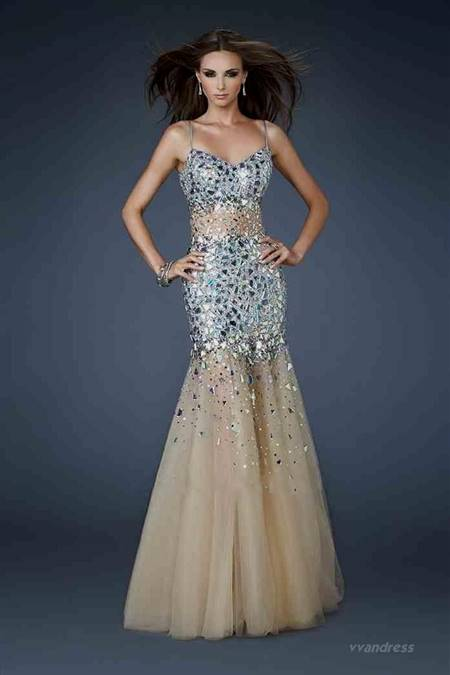 mermaid dresses for prom