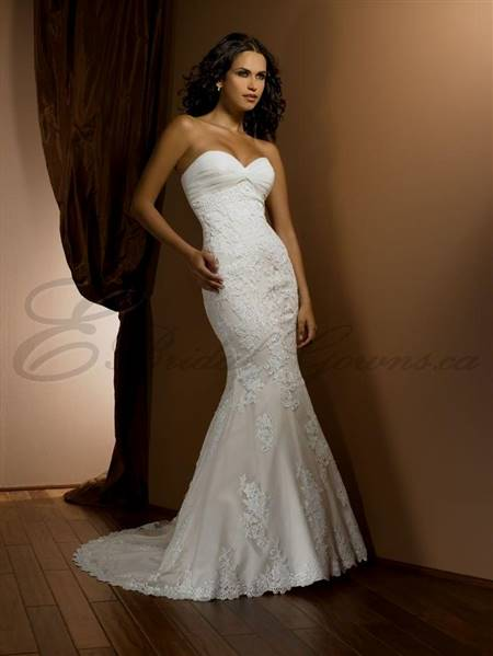 mermaid wedding dress sweetheart neckline