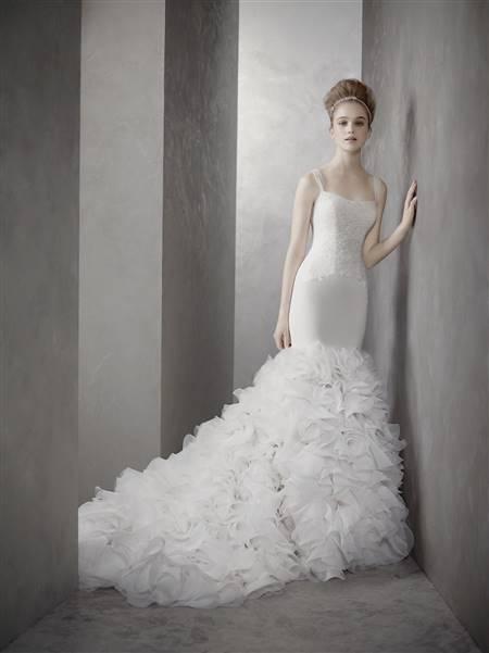 mermaid wedding dress vera wang