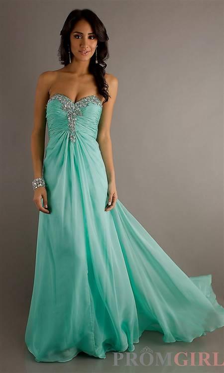 mint green prom dresses