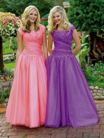 modest lds prom dresses