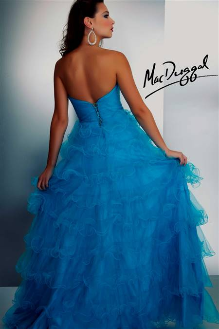 neon blue homecoming dresses