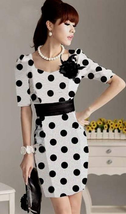 new fashion dresses korean