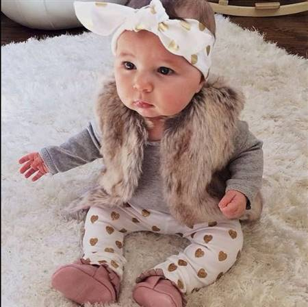 newborn baby girl clothes swag