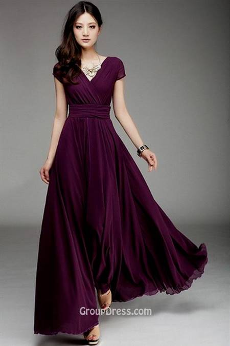 one shoulder chiffon prom dresses