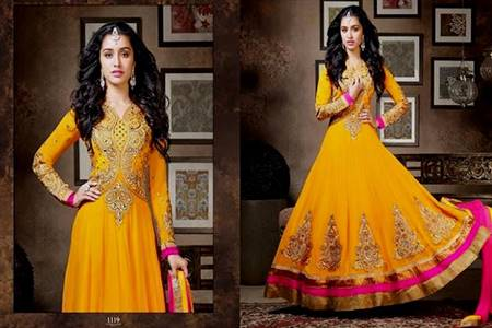 pakistani bridal mehndi dress