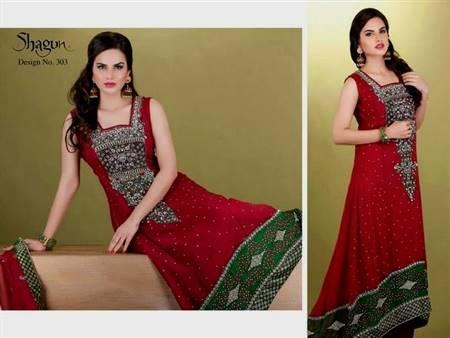 pakistani designer dresses party wear