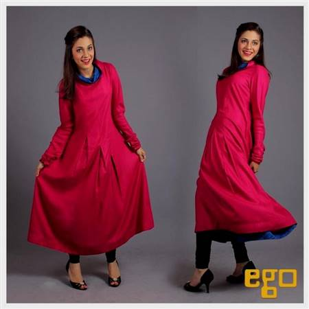 pakistani simple winter dresses