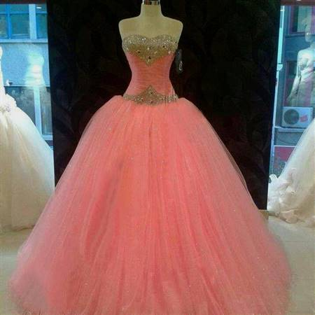 pink ball gowns for debut
