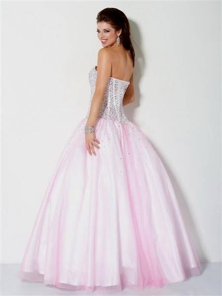 pink ball gowns prom