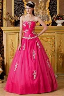 pink gown for debut