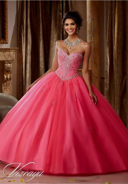 pink gown for prom
