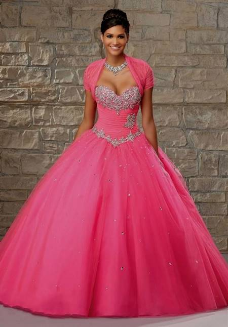 pink gowns for debutante