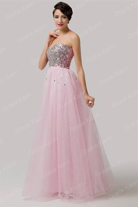 pink mermaid prom dresses