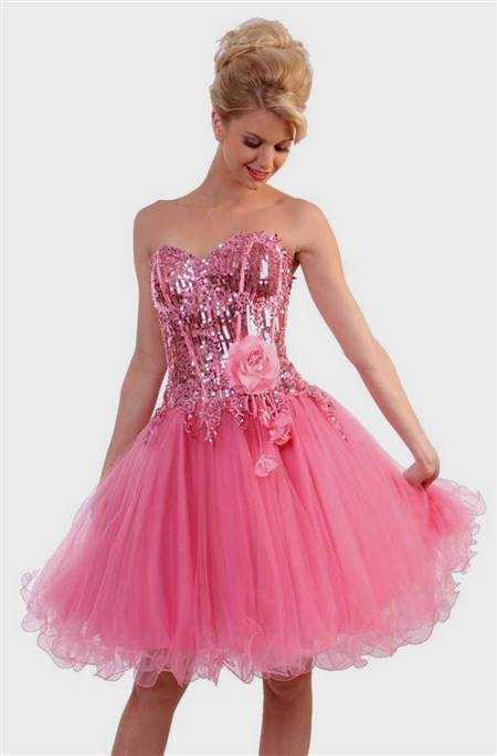 pink party dresses for juniors