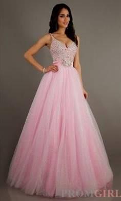 pink princess ball gowns