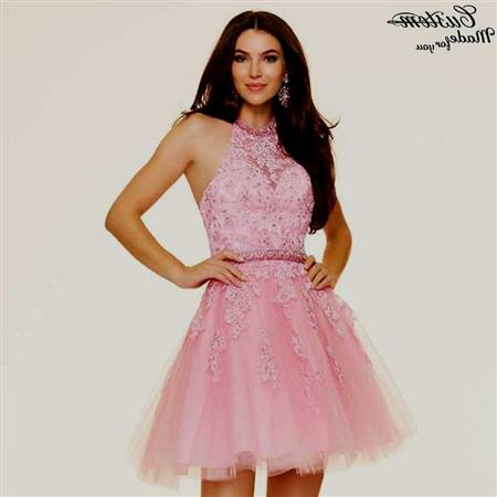 pink sparkly homecoming dresses
