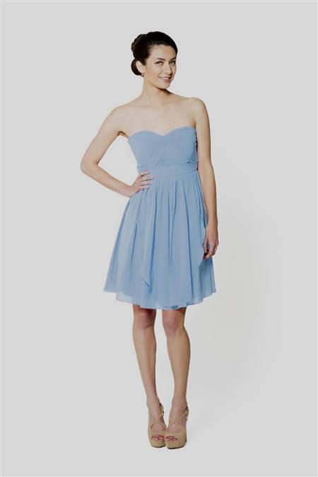 Powder Blue Cocktail Dress B2b Fashion