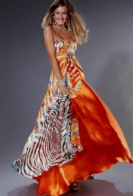 prettiest zebra prom dress in the world