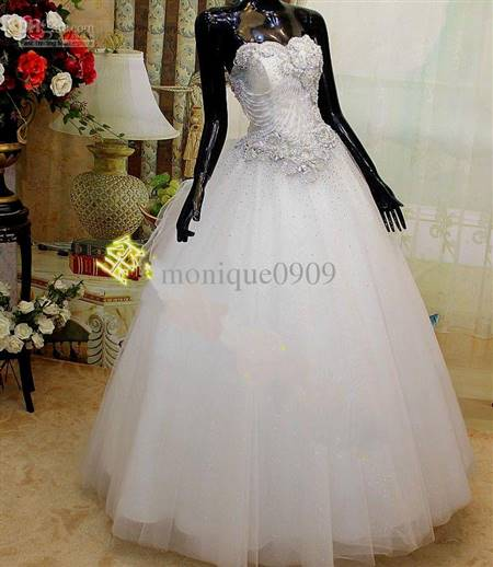 Princess Ball Gown Wedding Dresses With Bling B2b Fashion