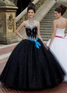 princess ball gowns for prom black