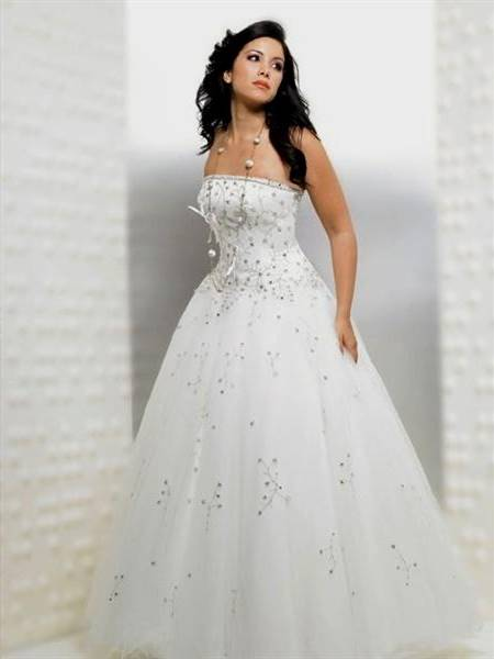 princess ball gowns white