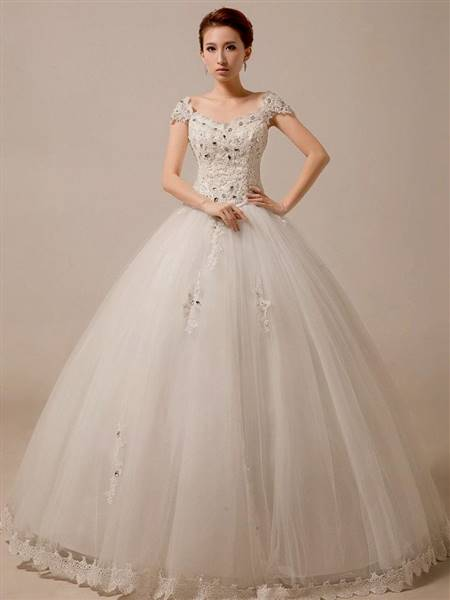 princess ball gowns with sleeves