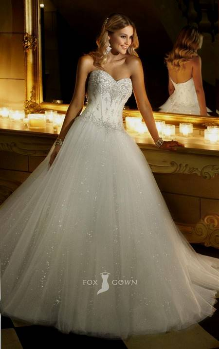 princess beaded ball gown wedding dresses