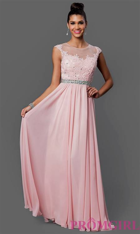 prom dresses with lace overlay