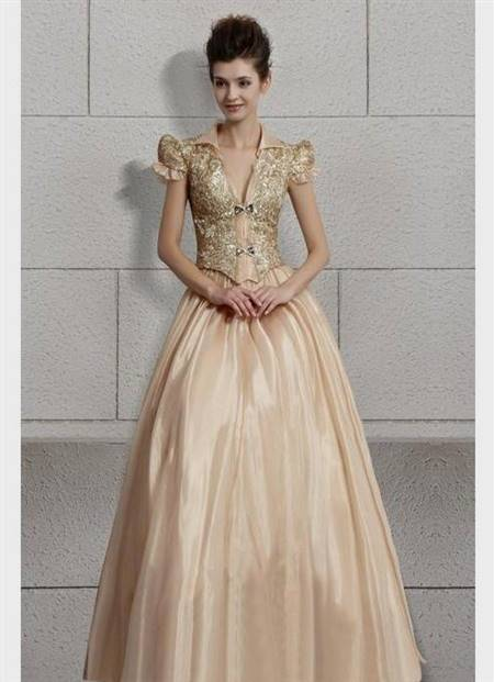 prom gowns with sleeves