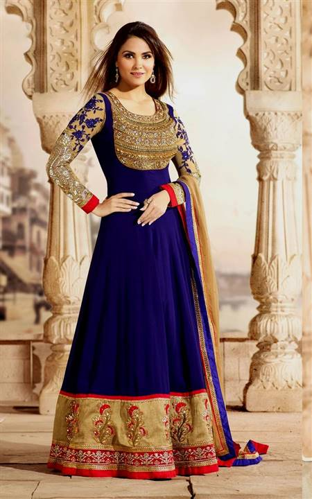 punjabi dress neck design bridal wear