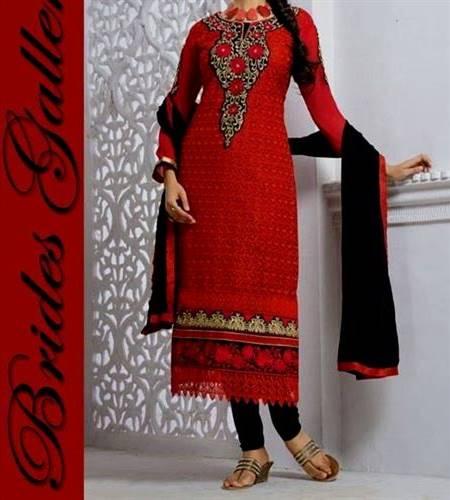 punjabi dress neck design bridal wear