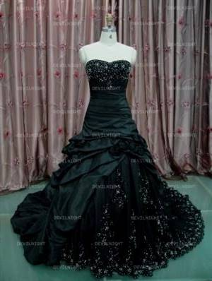 punk wedding dress