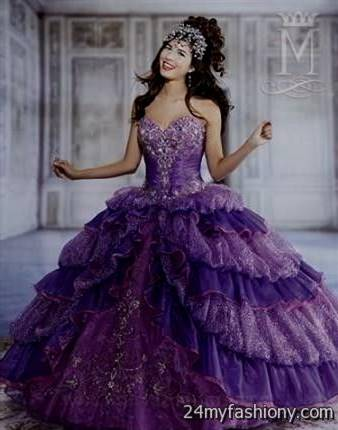 purple ball gowns masquerade