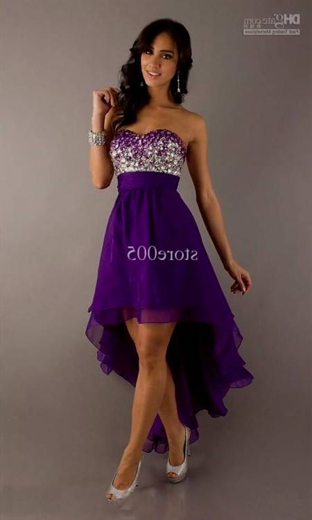 purple dresses for graduation