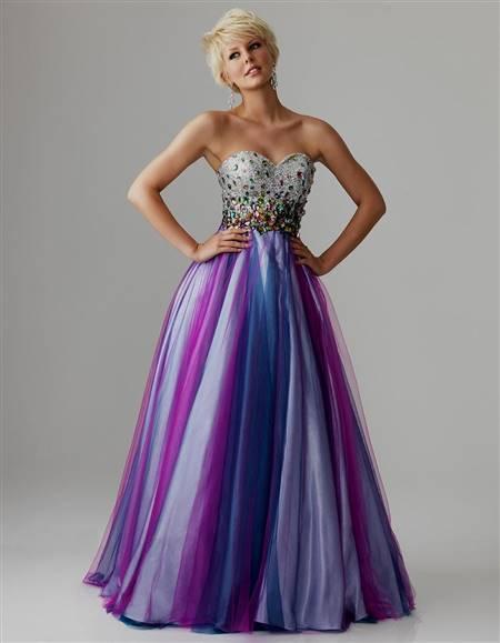 purple dresses for prom