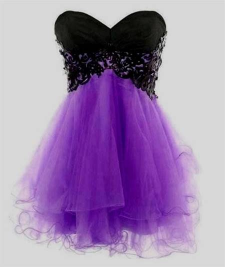 purple dresses for teenagers with straps