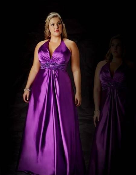purple knee length bridesmaid dresses