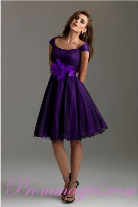 purple party dresses for women