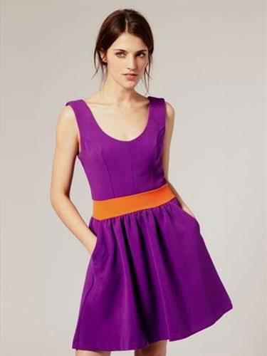 purple spring dresses