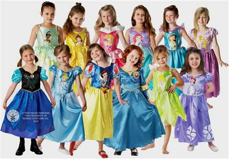 real disney princess gowns kids