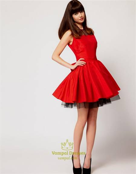red and black dress homecoming