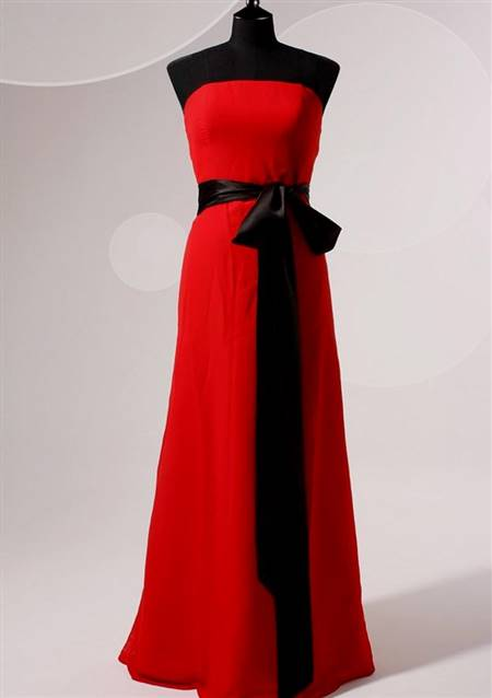 red and black goth dresses