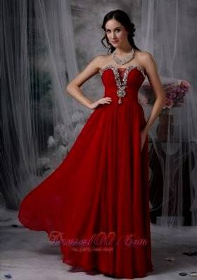 red dresses for prom
