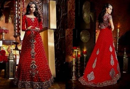 red dresses pakistani