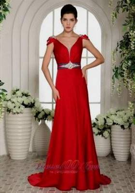 red evening dresses