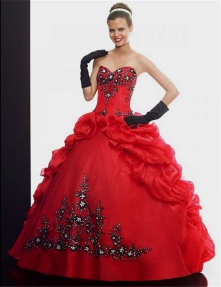 red gowns for debutante